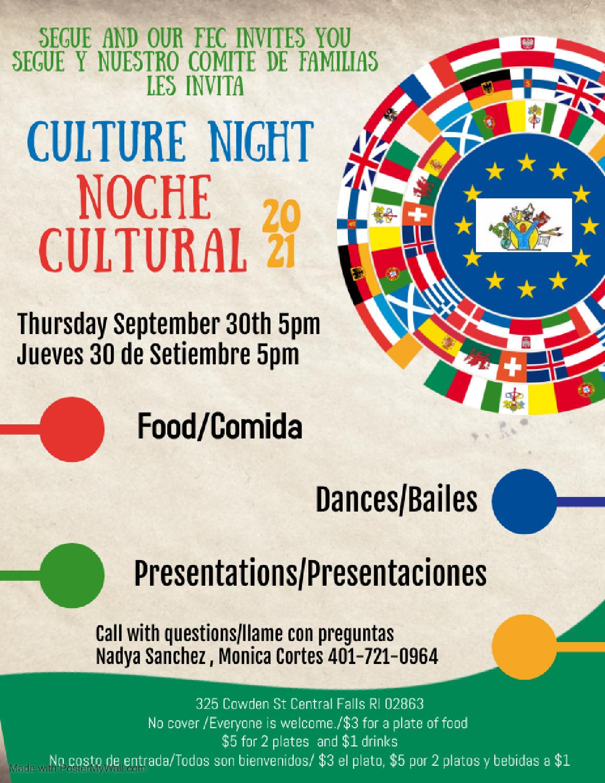 Cultural Night / Noche de cultura