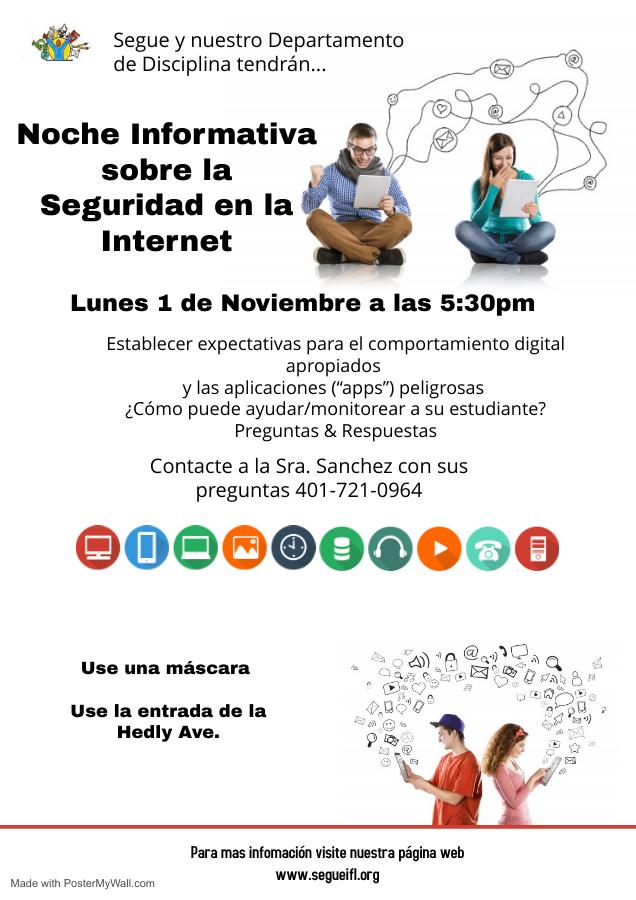 Info Night Internet Safety SPAN
